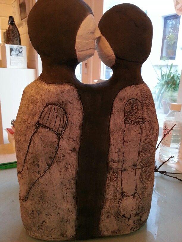 """Whats left unsaid"" Ceramic"