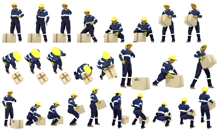 correct manual handling within a workplace