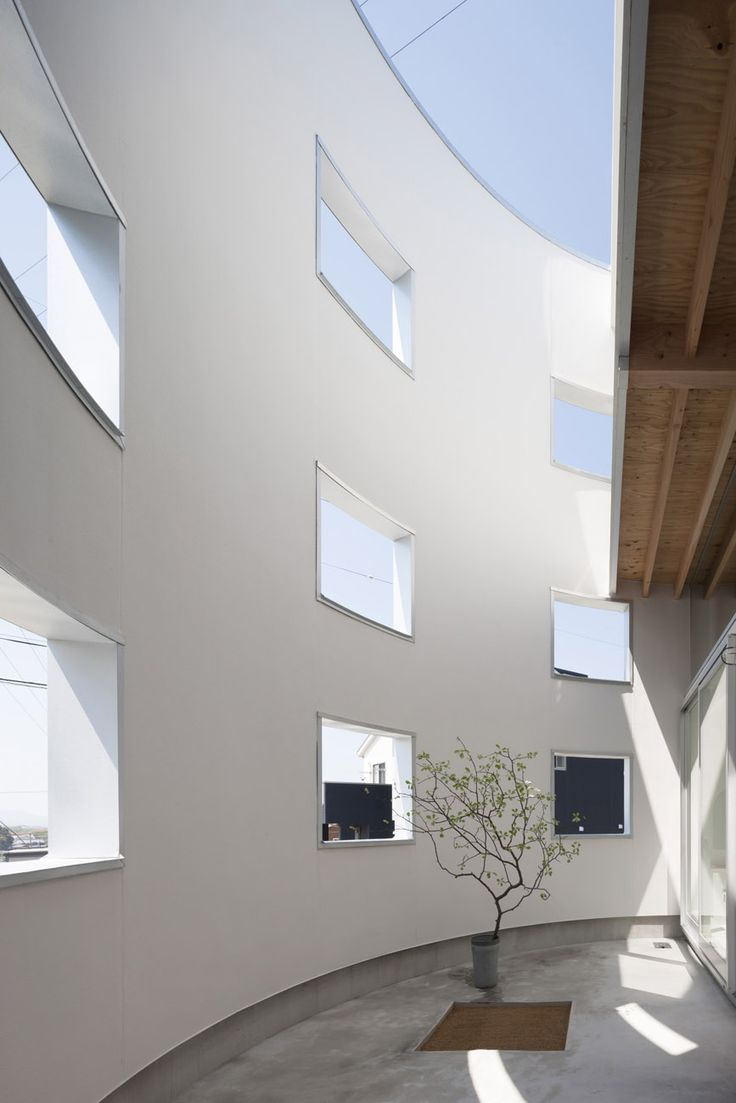 A Japanese house by Tato Architects hides a beautiful floating space