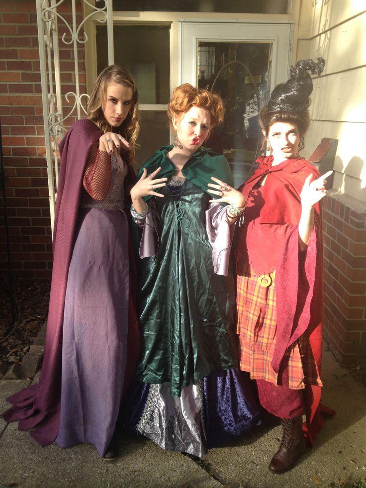 Best Hocus Pocus Costumes Ever! Sanderson Sisters! | Fun ...