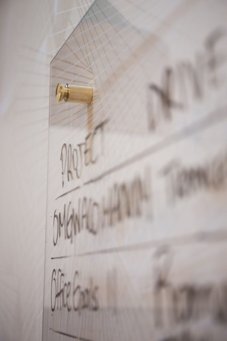 DIY Plexiglass Dry Erase Board