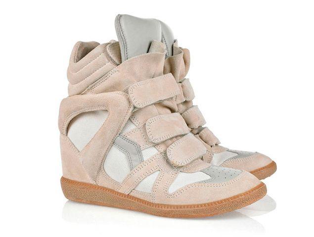 Los quierooooooooo #sneaker #IsabelMarant  want them: Shoes, Leather Wedges, Marant Sneakers, High Tops, Style, Sneakers Wedges, Isabel Marant, Wedges Sneakers, Wedge Sneakers