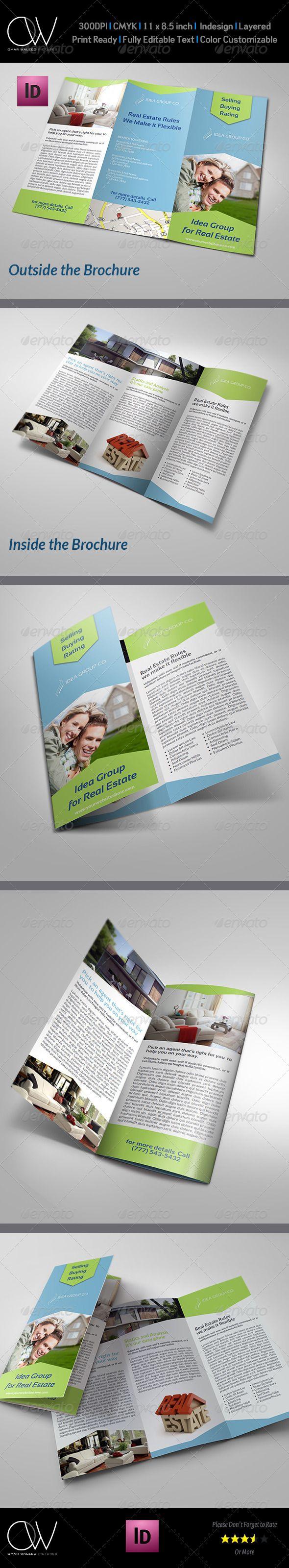 Best Brochure TriFold Images On Pinterest Tri Fold Brochure - Tri fold brochure template indesign