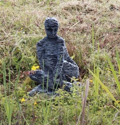 Stephen Kettle. #sculpture, #landscape