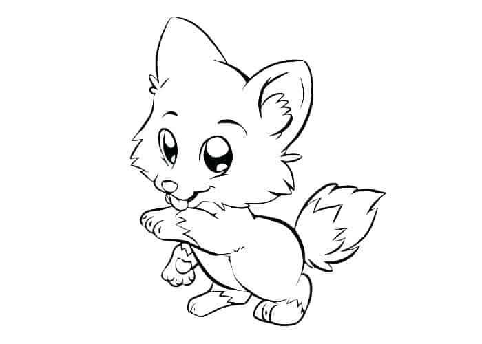 Baby Wolf Coloring Pages In 2020 Puppy Coloring Pages Fox Coloring Page Cartoon Coloring Pages