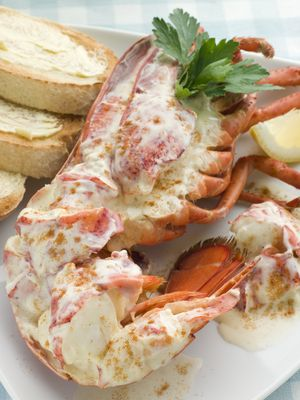 JULY 26 - Feast of St Anne (& Joachim) The Gourmet Mom: Lobster Newburg
