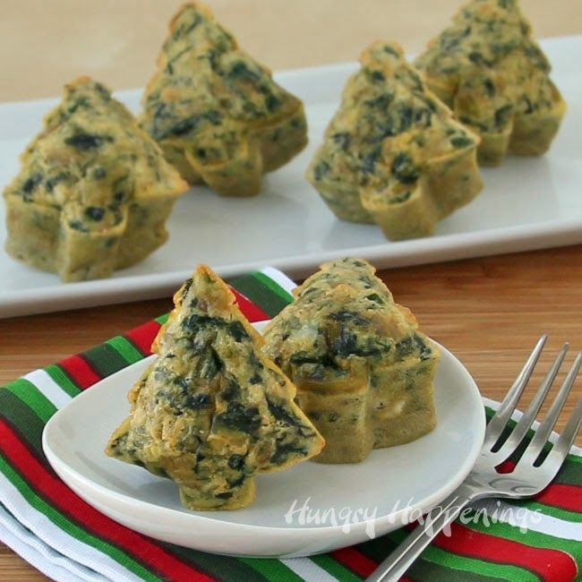 How to make spinach frittata trees food treats recipes christmas christmas recipes christmas food christmas treats spinach frittata