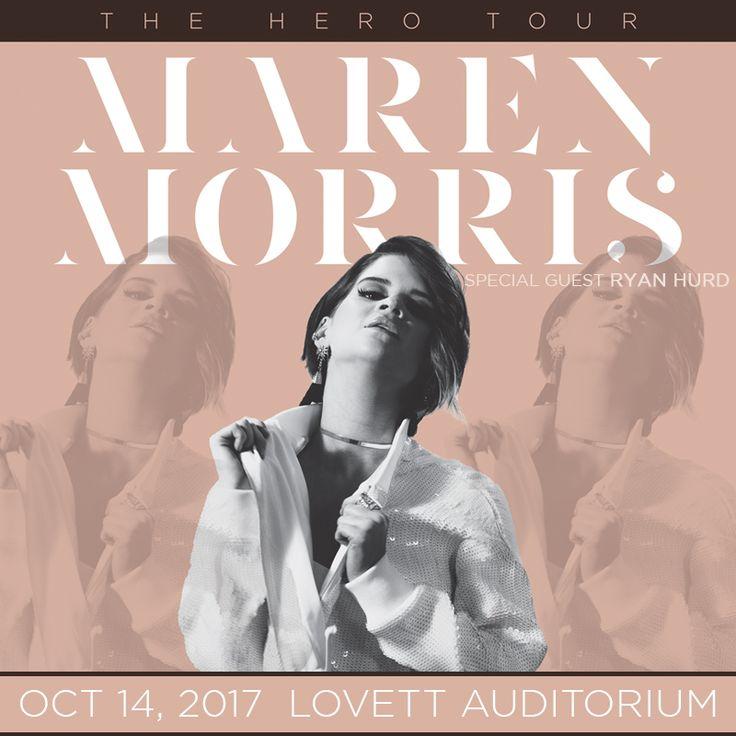 Maren Morris: Hero Tour coming to Murray, KY!