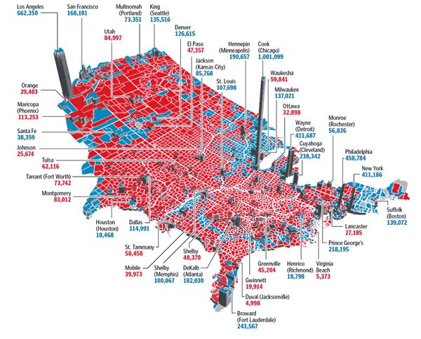 Maps Of The 2008 Us Presidential Election