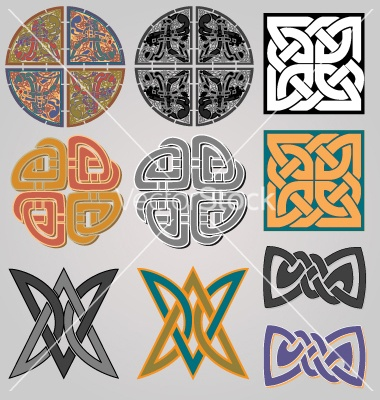 Celtic design deco vector