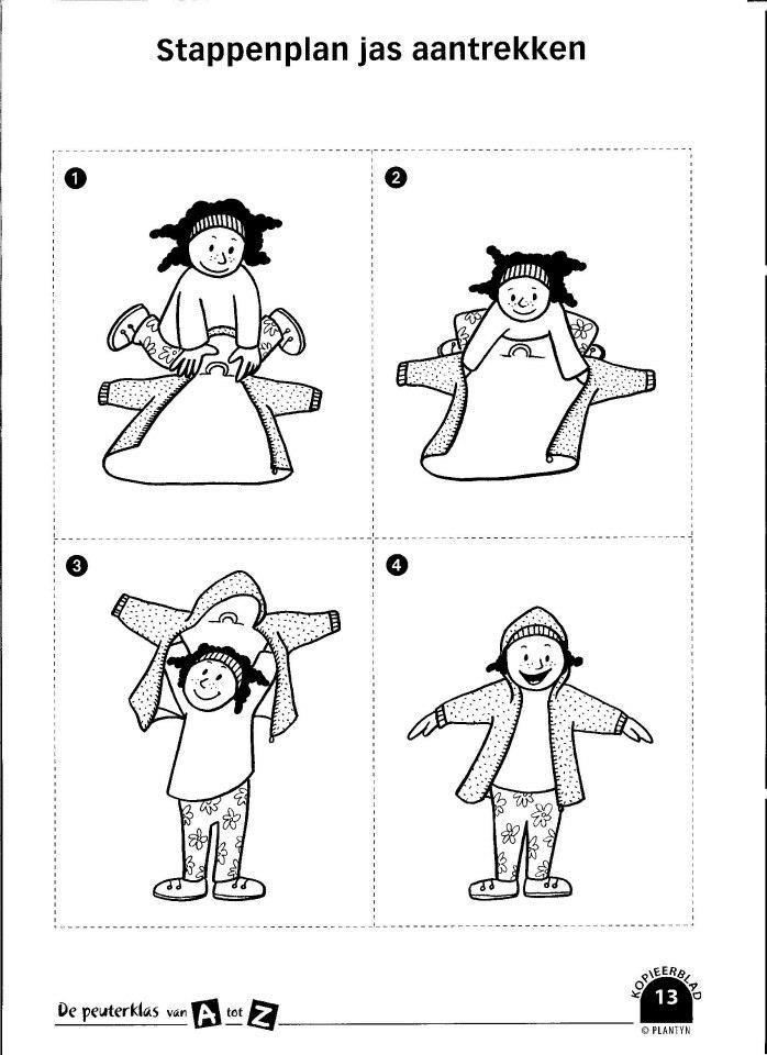 stappenplan jas aantrekken
