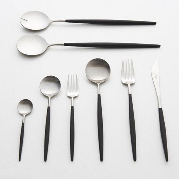 Cutipol | Goa  cutlery set with 24 pcs. GOA in a gift 379,95 € http://www.asa-selection-shop.com/sv/cutlery/goa/goa-cutlery-set-with-24-pcs-goa-in-a-gift