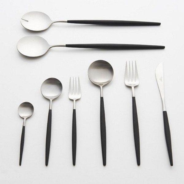 Cutipol   Goa  cutlery set with 24 pcs. GOA in a gift 379,95 € http://www.asa-selection-shop.com/sv/cutlery/goa/goa-cutlery-set-with-24-pcs-goa-in-a-gift