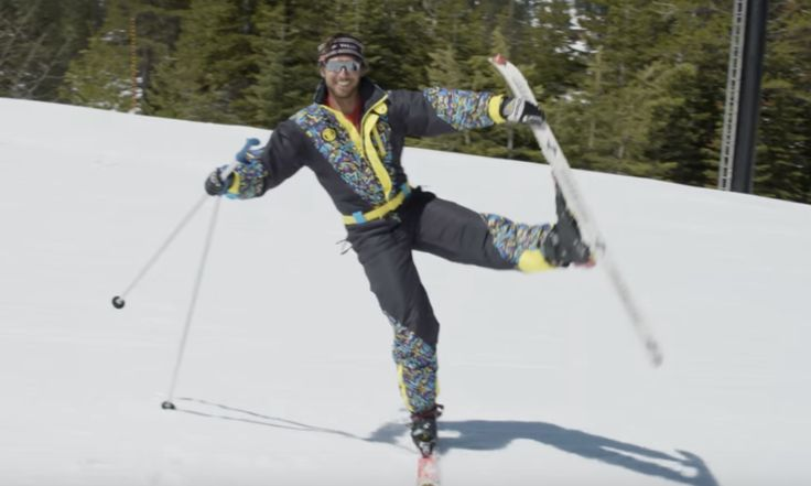 WATCH: Jonny Moseley Reminds Us 'SKI BALLET' Is Just As Awesome In 2017