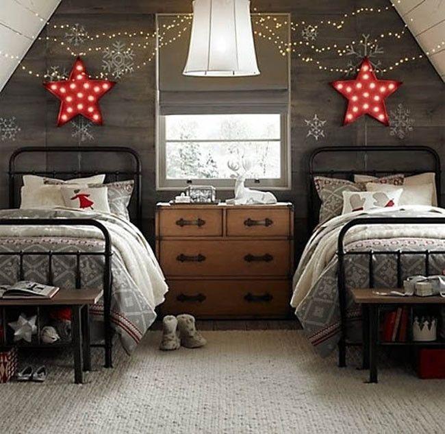 Luces Dormitorio Navidad 10