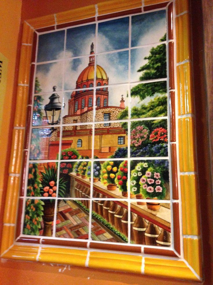 Mexican Style Mural San Miguel La Vista Vistas Y Jard 237 N