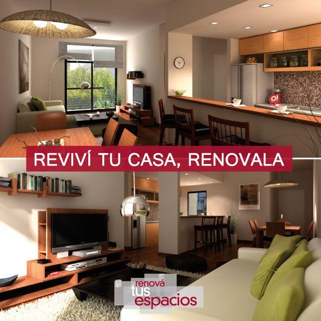 ¡Dale vida a tus espacios! #DecoraciónIntegral #Reformas #Obras medianas y grandes #Casas #Deptos #Oficinas #Negocios Consultanos en www.renovatusespacios.com.ar o llamanos al 011 4897-5275