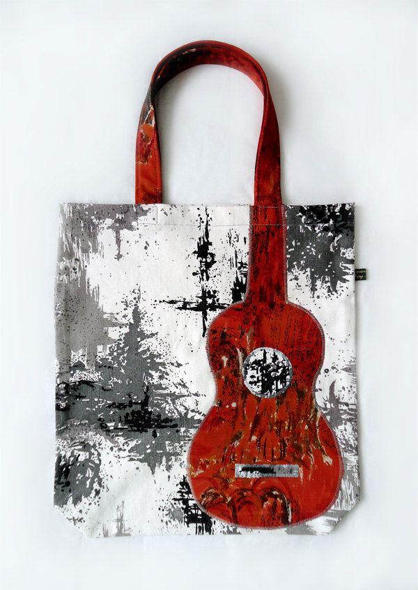 bolso c/guitarra aplic.