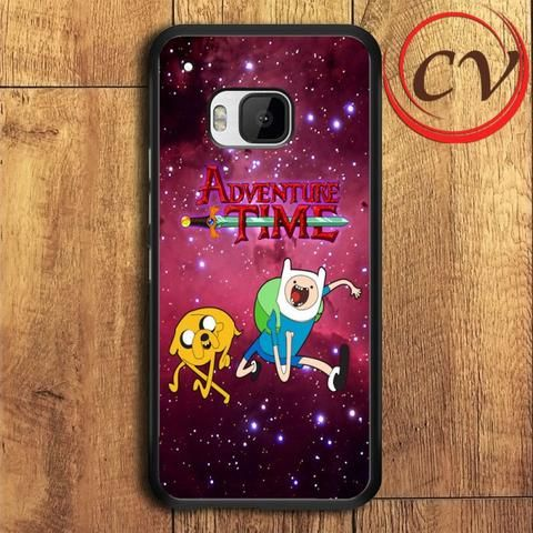 Adventure Time HTC One M9 Plus Black Case
