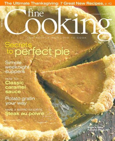 Fine Cooking Magazine Subscription Discount   Magazines.com