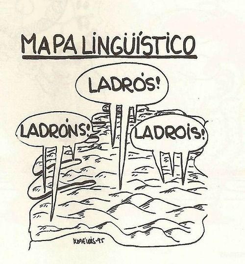 Bloques lingüísticos do galego