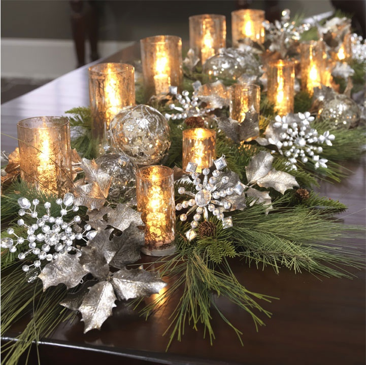 Christmas Lights At Reject Shop: Great Table Decoration. Could Be Created Easily By Looking