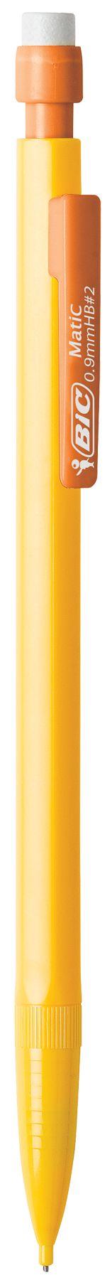 BIC Mechanical Pencil with Metallic Barrels, 0.5mm, Black, 24-Pack - Walmart.com