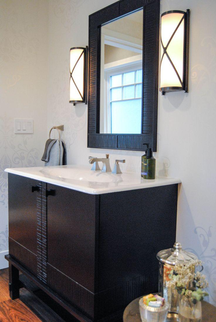 Corey Klassen Interior Design Dunbar Powderroom Bathroom International Award Boutique DesignDesign FirmsVancouver