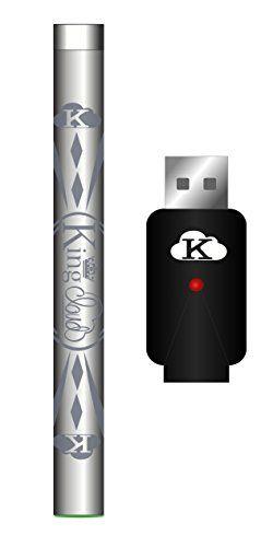 King Cloud Stainless Steel Rapid Charge Variable Voltage Slim 510 Pen Set