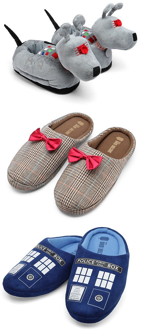 Perfectly Fantastic Doctor Who Slippers