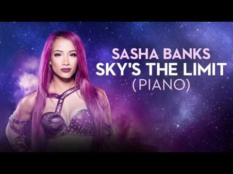 Awesome version of The.   BO$$ Sasha Banks Sky's the Limit theme song! Piano Version YouTube
