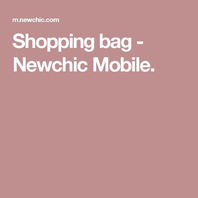 Shopping bag - Newchic Mobile.