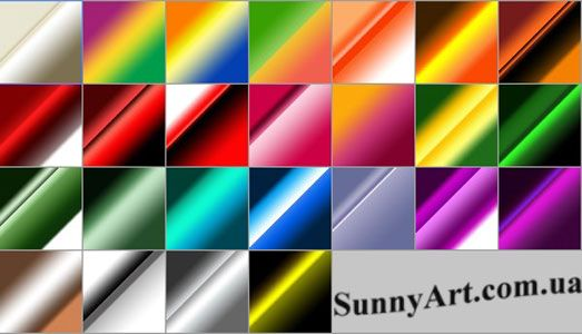 Градиенты в разном сочетании цветов — Различные PSD, PNG файлы для фотошопа