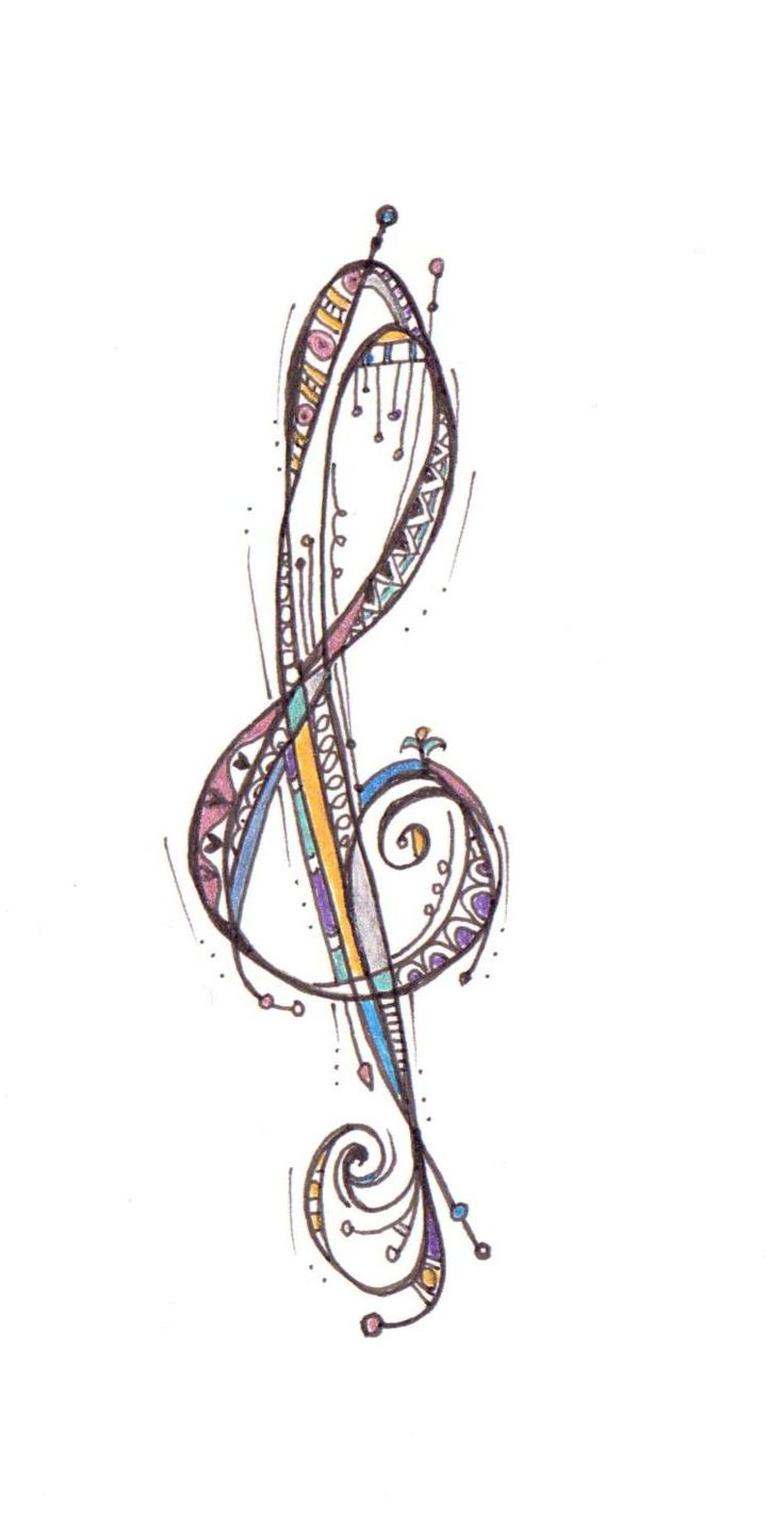 Treble Clef by Laura Oliver