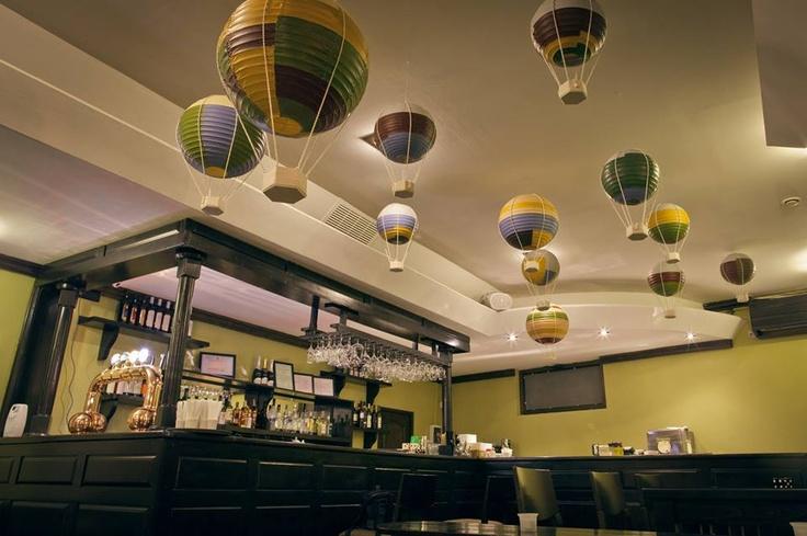 Hot air balloons room