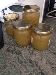 Confiture pommes poires vanille au thermomix