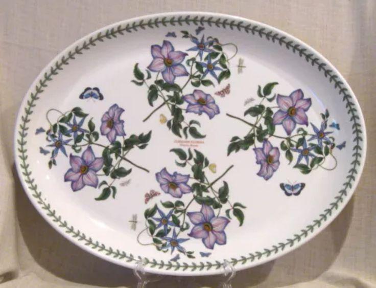 Portmeirion Pottery -- Turkey Platter.