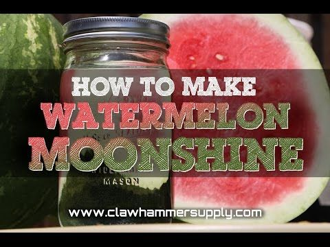 How to Make Watermelon Moonshine (Step By Step With Pictures)