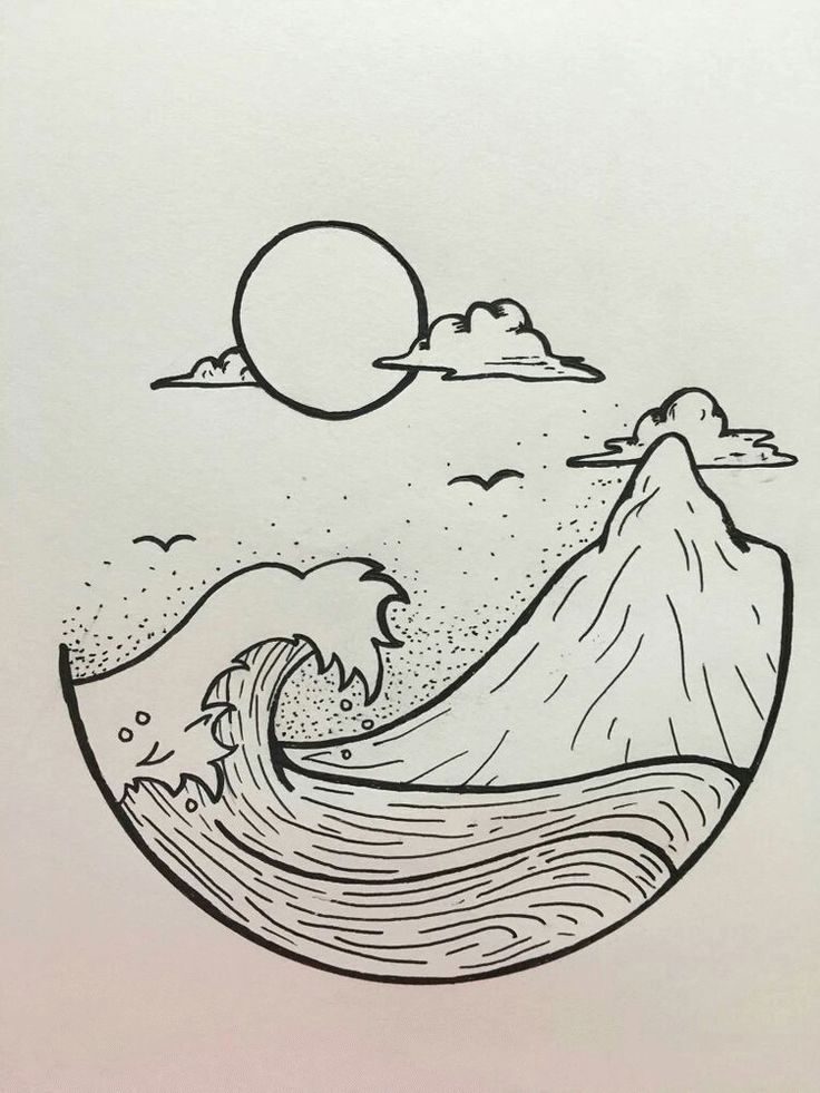 35 Cool Easy Whimsical Drawing Ideas # drawings #doodles // Drawing ideas bujo ideas things to