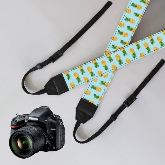Camera StrappineappledSLR Camera StrapSLR Digital by NiceStraps