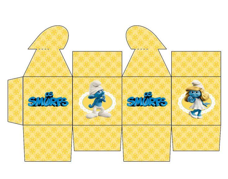 caixinha+coração+smurf+menina.png (1275×1001)