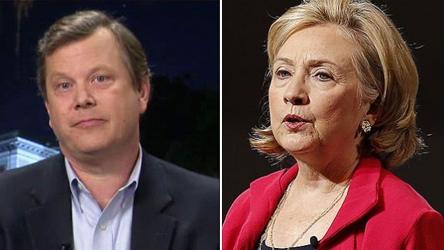 "Peter Schweizer blasts Clinton campaign's scandal response (05/07/2015 - The Kelly File)  Killary., you and hubby's ""not one shred of evidence"" defense about book 'Clinton Cash' is not holding water.  Nice try, but thanks for playin'!!<giggle>"