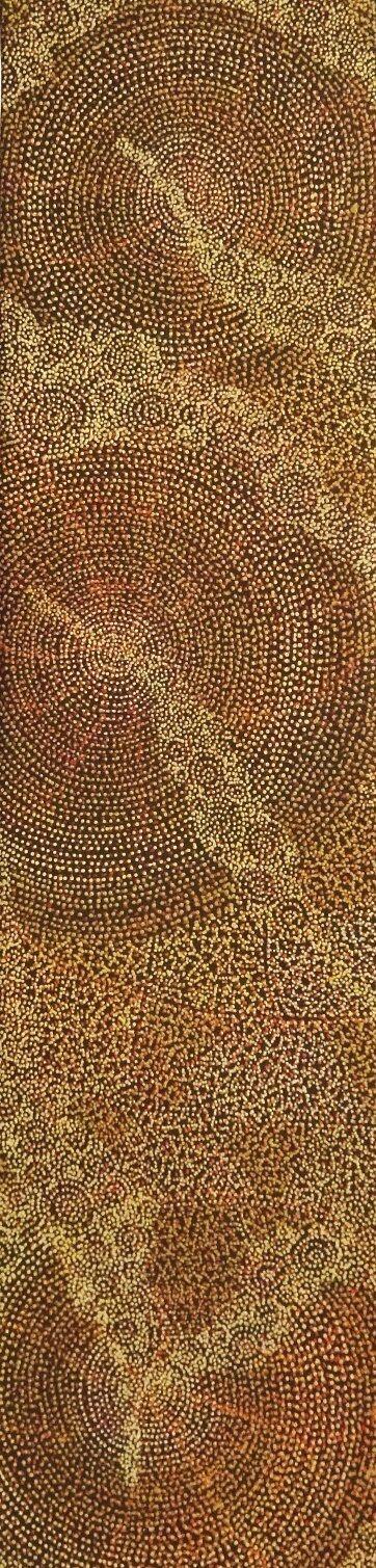 Sarrita King / Ancestors (2B) 120cm x 30cm Acrylic on Linen