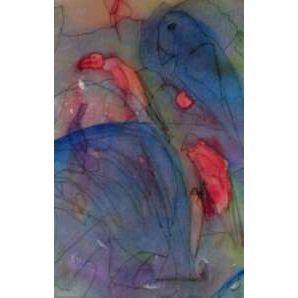 A Bird in Paradise, Sirkkaliisa Virtanen, watercolor