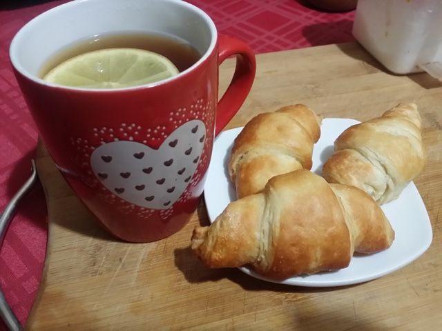 Mi cocina vegetariana: CROISSANTS VEGANOS...UNA MASA DE HOJALDRE MUY CONSEGUIDA