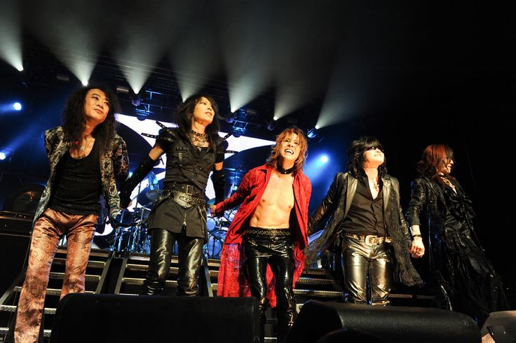 X Japan on stage