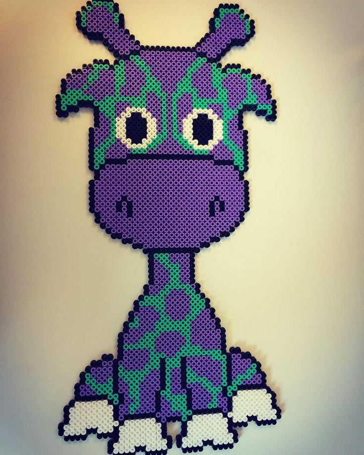 Giraffe hama beads by krea_mor_sophia - Pattern: https://de.pinterest.com/pin/374291419013031076/