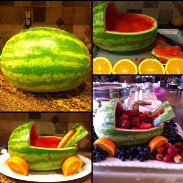 Baby shower fruit salad. | Parties | Pinterest