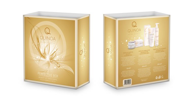 Per la festa della donna concediti un regalo prezioso: chiedi al tuo farmacista di fiducia la Perfective Box di Quinoa Dermocosmetic http://www.quinoa.it/perfective/