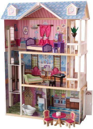 My Dreamy Dollhouse With Furniture Doll Houses For Girls